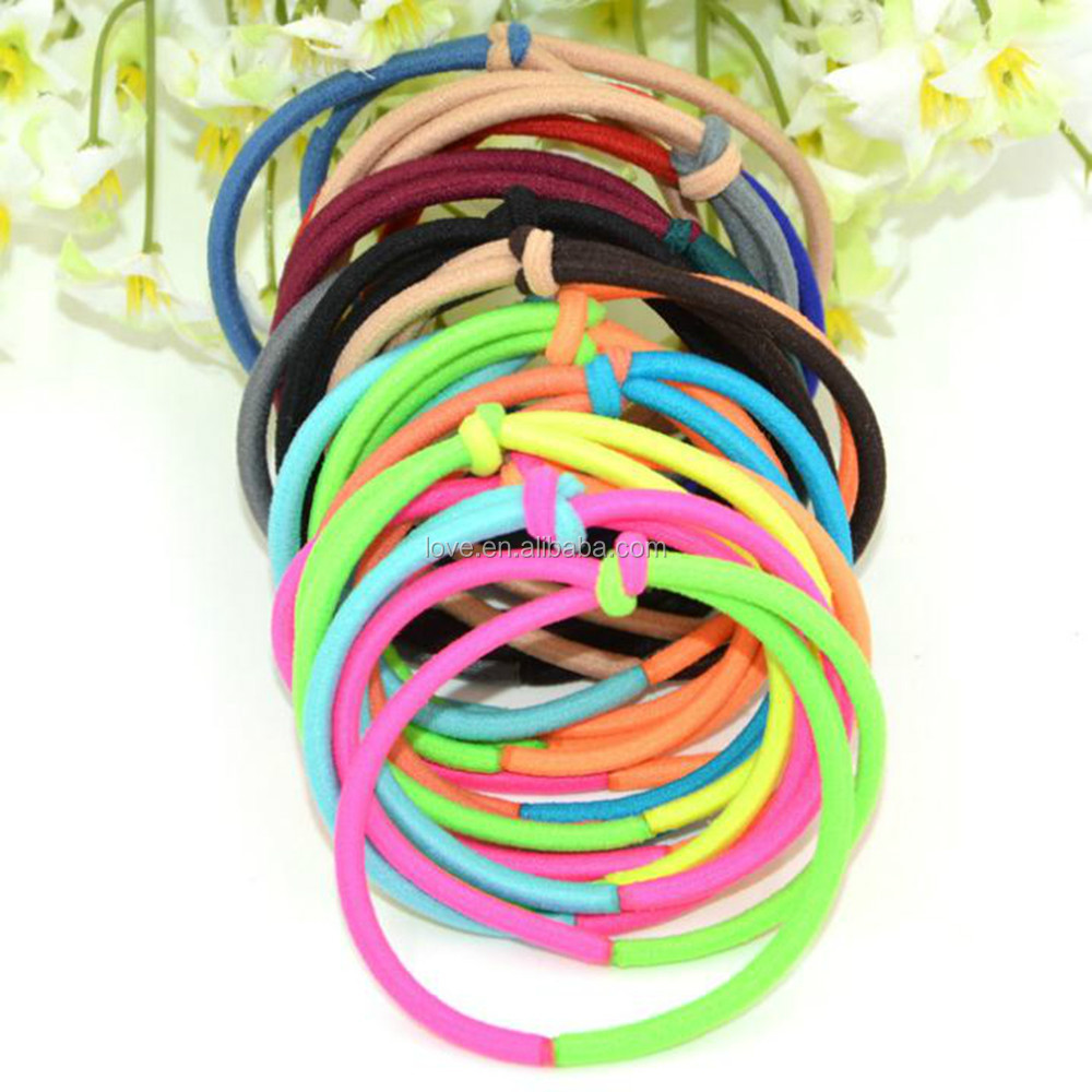 Wholesale Elastic Hair Ties,Knot Nylon Hair Bands