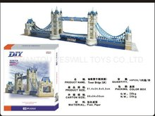 London Bridge 3D DIY puzzle (120pcs)