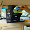 PU Leather DVD holder for car headrest Mount
