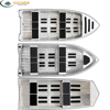 2017 Small Metal Deep V Fishing Aluminum Boat For Sale