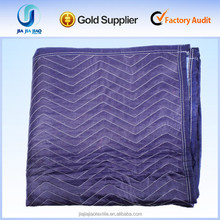 Quilted Woven Polyester Moving blankets/pads for furniture packing