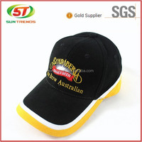 Made in China Perforated performance dry fit mesh reflectived applique running hat / golf cap / sport cap