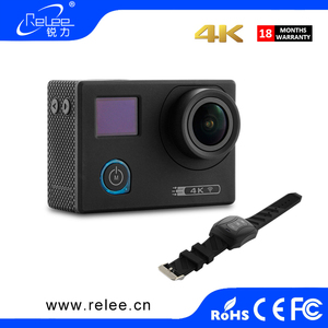 2017 best action camera 4k 24 fps ultra hd 1080p 60 fps 4k camcorder waterproof wifi action cam sport camera with dual screen