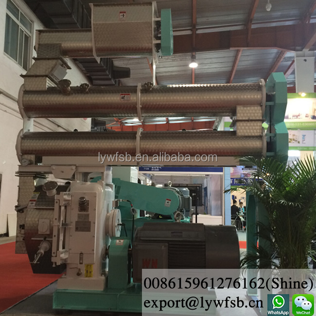 2018 new Animal feed pellet production line, animal feed pellet making machine, feed pellet making line