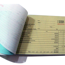carbonless triplicate receipt paper book sales waiter order book