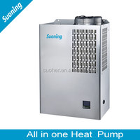 MINI Household All In One Air Source 5.2kw Wall Mounted Water Heater Heat Pump
