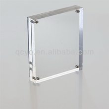 New Style high quality magnetic clear acrylic photo&picture frame