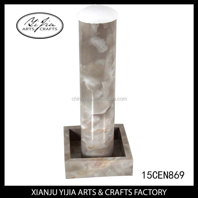 High End Jewelry Shop Marble T Bar Jewelry Display Stand