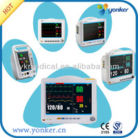 CE Approved Portable Color TFT Display ECG machine patient monitor multi-parameter