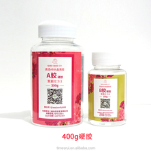 Fast Cure Price Cheap Transparent Clear UV Epoxy Resin Liquid AB Hard Glue Crystal and Hardener