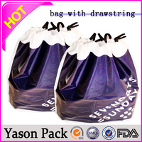 YASON small fabric drawstring bagsplastic drawstring gift bagbiodegradable garbage bags with drawstring