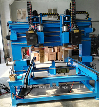 Spot Welding Machine For Fin Embossment