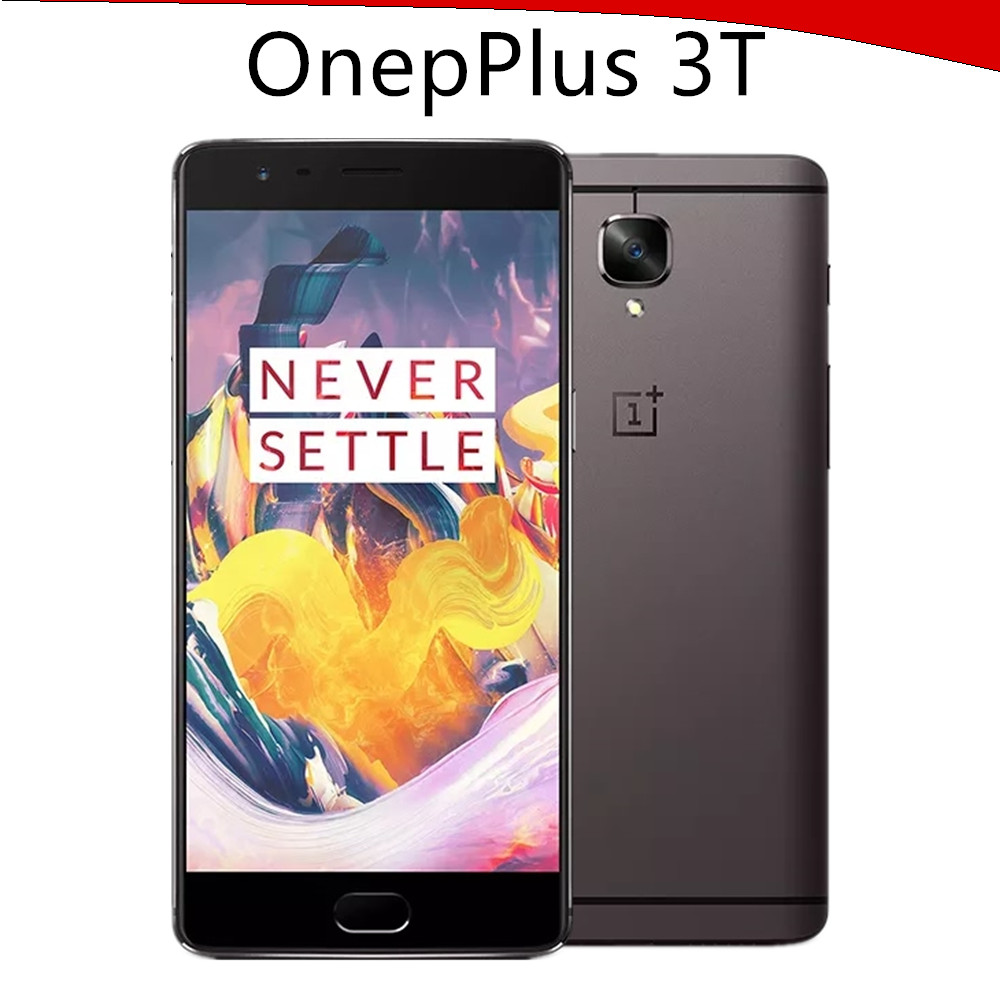 "Original Oneplus 3T one plus 3T Mobile Phone Snapdragon 821 Quad Core 5.5"" 6GB 64GB Android 6.0 LTE 16MP NFC Fingerprint"
