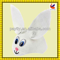 Felt Bunny Cap Hat for Animals Rabbit Hare Fancy Dress Accessory
