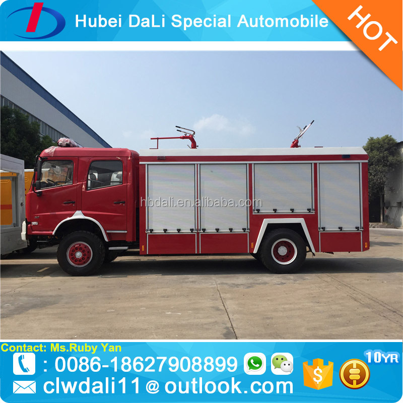 China Manufacture Fire Engine Airport Firefighting Water/Foam/Dry Powder Monitor Fire Truck