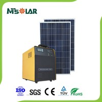 500w Best Solar Panel System For Industrial Commercial Power Supply