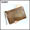 2016 new ladies customized leather clutch bag business factory wholesale for men