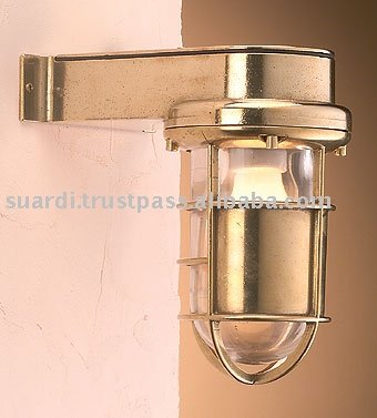 Water Proof Polished Brass Light