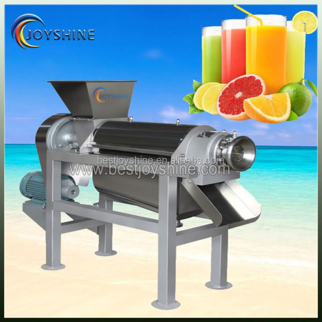 Competitive price spiral fruit juicer/screw extractor