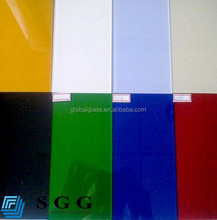 Top A quality colorful paint glass sheet with ISO CCC CE factory