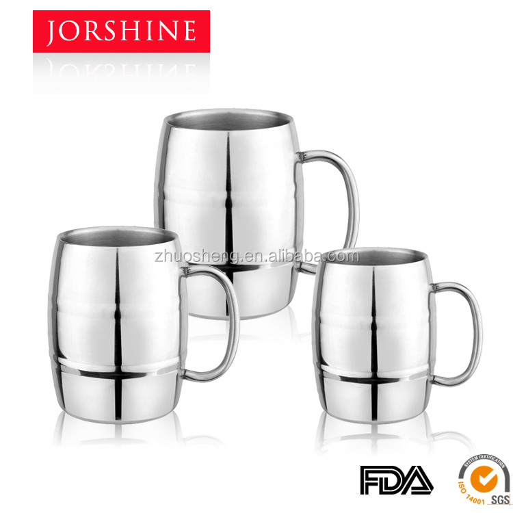 hot sell stainless steel double wall beer mug KB006A-300