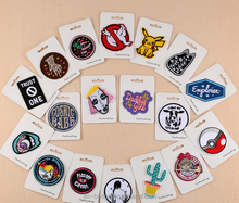 Sew-On uniform embroidery patch for clothes, cactus, trust one, not dead yet, leave me alone patch individual patch pack