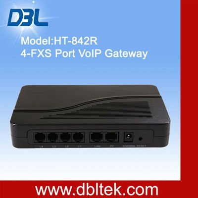 DBL FXS Gateway HT-842R,(echo cancellation -bluetooth)