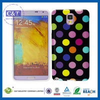 Creative Design 2014 tpu custom cell phone case for samsung galaxy note 3