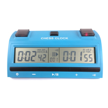 Hot-selling Professional chinese manufactured blue professional digital chess clock