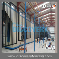Metal Powder Coated Decorative Aluminum Fence