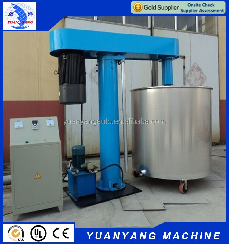 Best priced high quality chemical liquid coating mixing dispersion dissolver