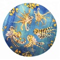 beautiful design full print sea food melamine dinner plate/dessert plate