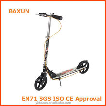Zhejiang factory extreme adult kick bike scooter with front suspension and ring bell