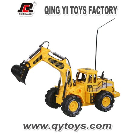 1:10 construction rc 4 wheel drive trucks