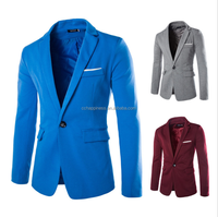 2015 newest men's casual blazer short blazer fashion blazer coat for male 5 colors