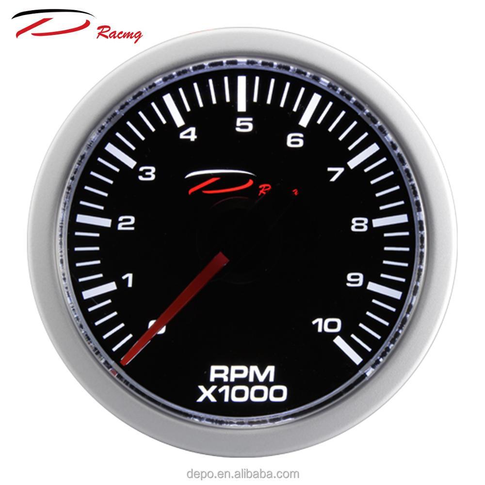 52ミリメートルユニバーサル電気アナログrpmメーター自動ゲージ車車両