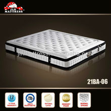 Luxury vinyl leather fitted mattress slipcover from mattress manufacturer 21BA-06