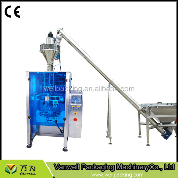 PLC control for weighting forming filling sealing printing VL-450 automatic packing machine
