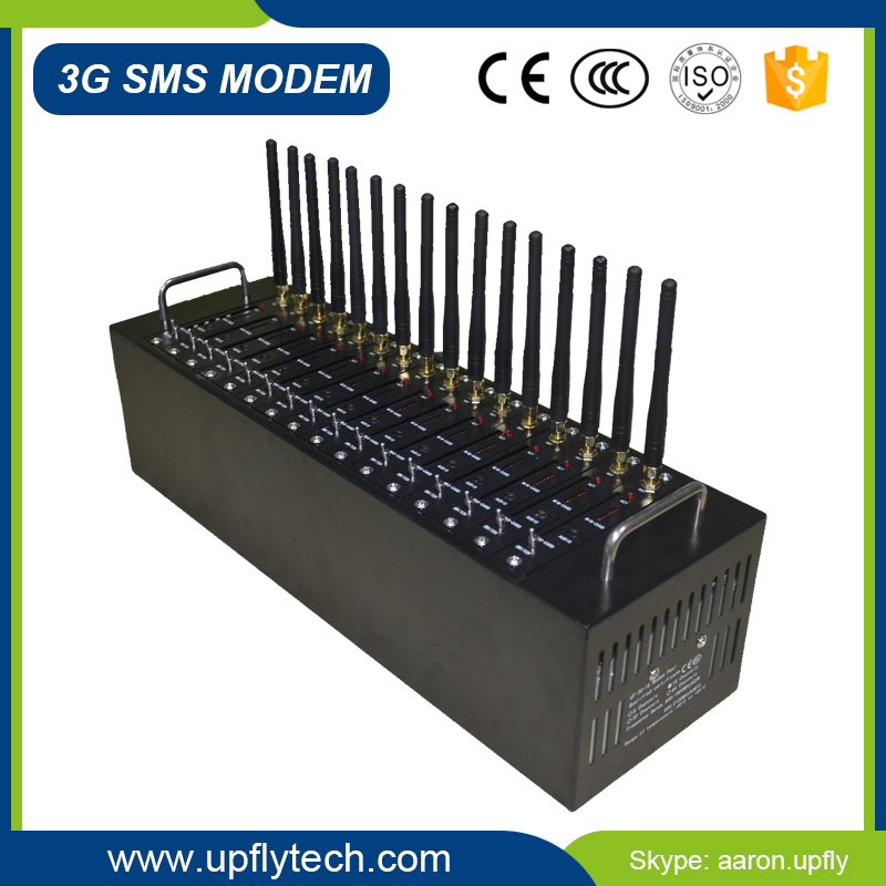 16 port USB SMS Modem GSM Modem 3G Modem Pool sms marketing receive sms message UF-3G-16