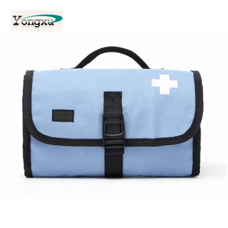 new design polyester foldable toiletry bag toilet bag