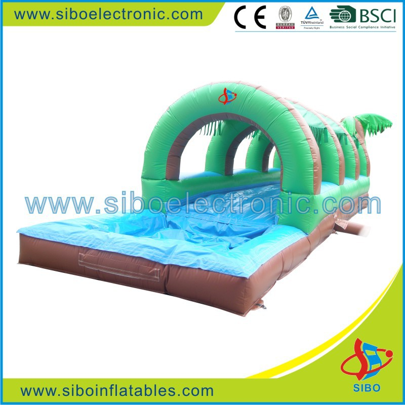 GMIF5614 Outdoor Pvc Slip N Slides Inflatable Waterslide for Kids Water Games
