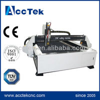 cnc plasma pipe cutting machine / water cooled plasma cutting torch with high speed