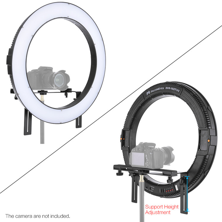 Studio Photography Ring Light 160 Ring LED Panel DVR-160TVC For Photo Video Film Studio Photography