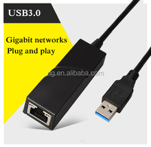 USB 3.0 ETHERNET INTERNET ADAPTER 10/100/1000Mbps Gigabit LAN card USB3.0 to RJ 45 for Ultrabook PC Computer Notebook Laptop