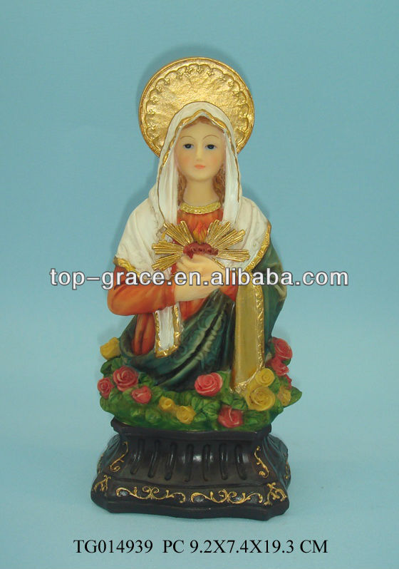 poly resin virgin Mary