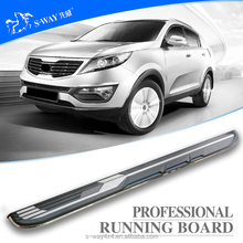 Competitive price wholesale factory running board for sportage r nerf bar SUV side step