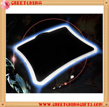 Custom usb light up portable mouse pad