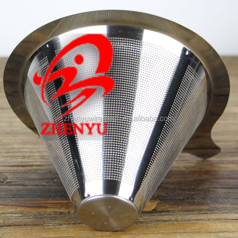 Zhenyu Paperless Washable Reusable Pour Over Coffee Filter