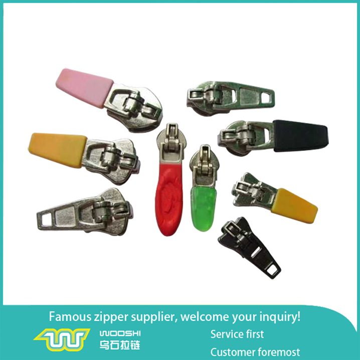Special design OEM fashion zipper slider and puller customized accessories