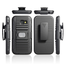 Free sample armor shockproof combo phone case for Samsung A5 2017